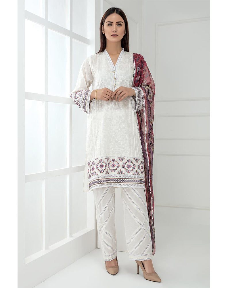 LSM Chikankari Essential Collection 2019 Salwar Suit DN-07