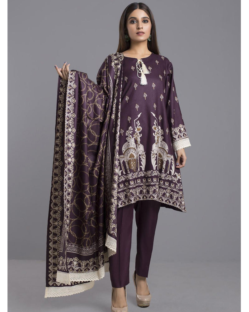 Sahil Winter Linen by ZS Pakistani Suits DN-07