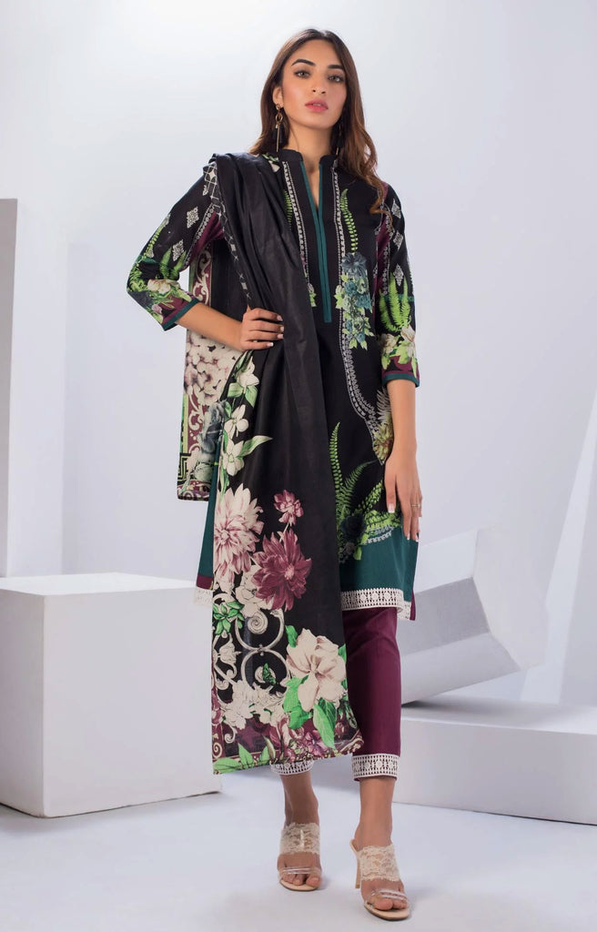 Original Pakistani Sahil Cotton Salwar Kameez DN-07
