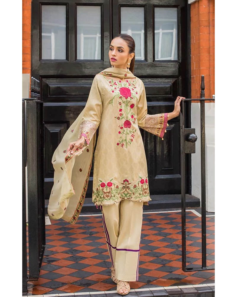 Mahnoor Lawn Collection 19 Salwar Suit DN-08