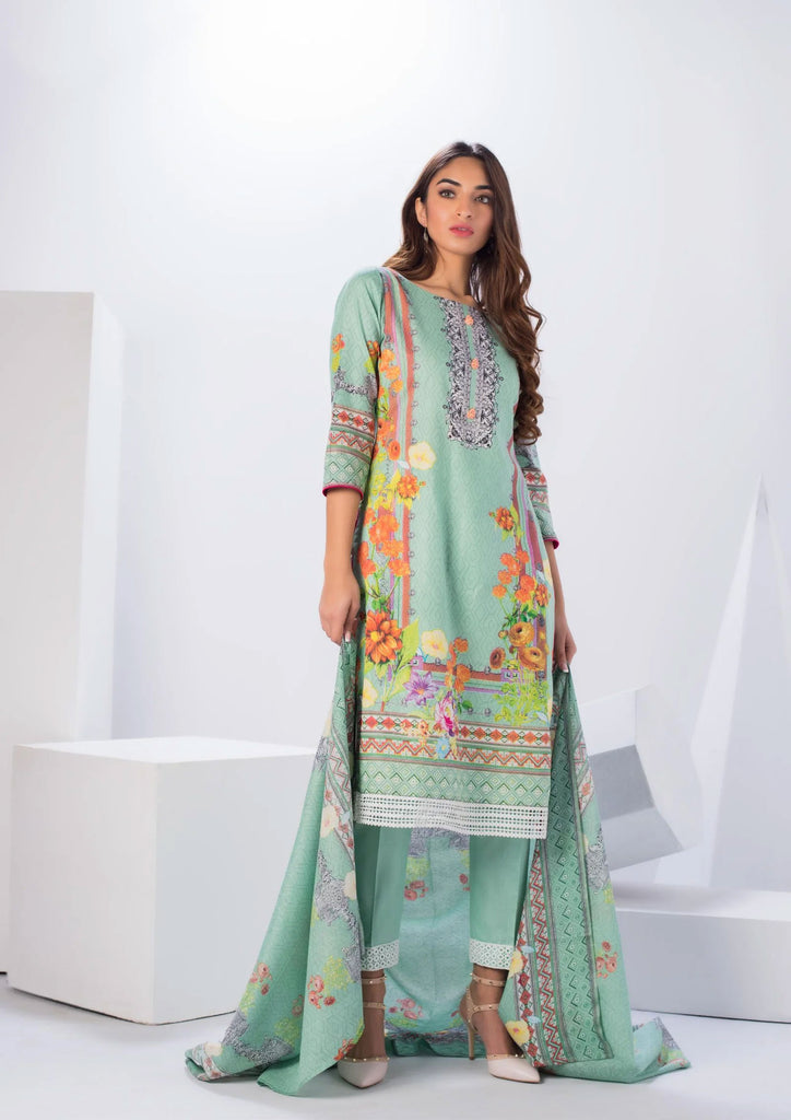 Original Pakistani Sahil Cotton Salwar Kameez DN-09