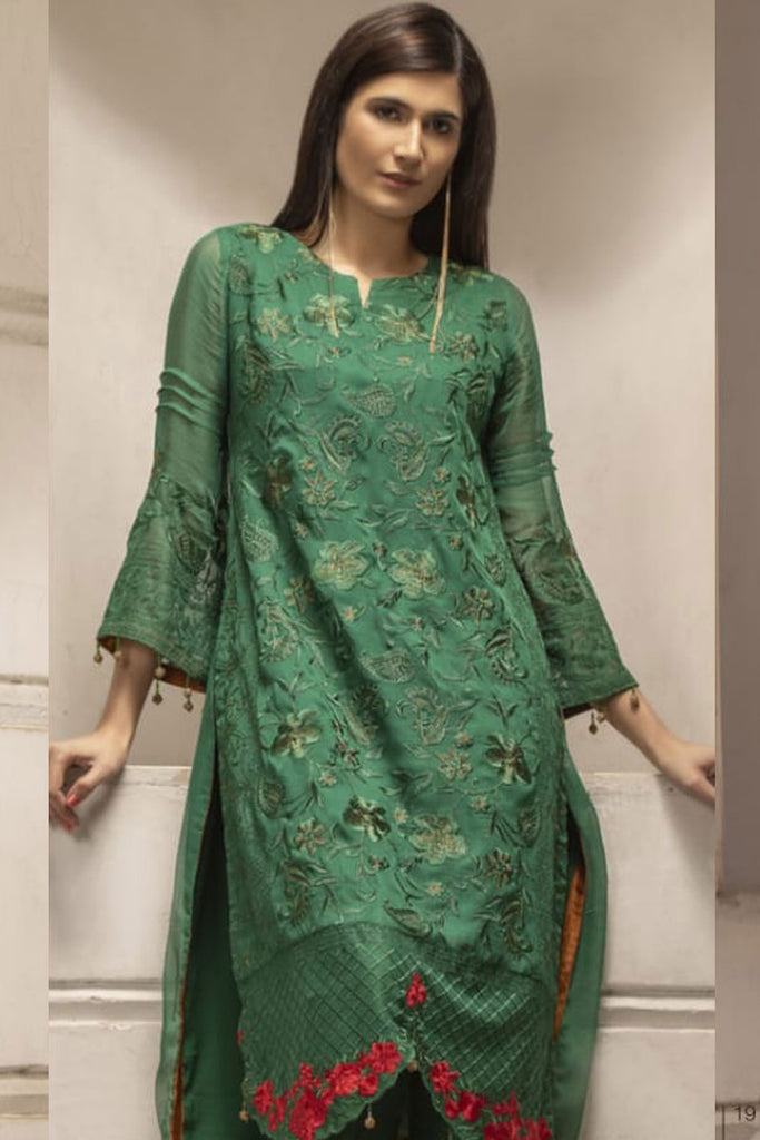 Azure Luxury Formal Pakistani Kurtis DN-10