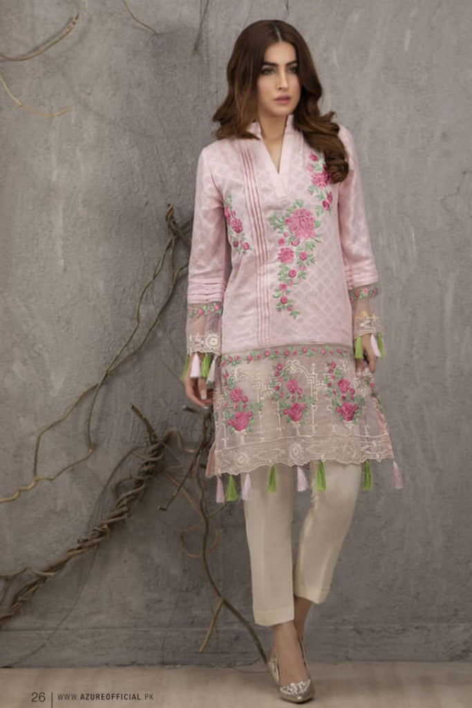 Azure Luxury Formal Pakistani Kurtis DN-13