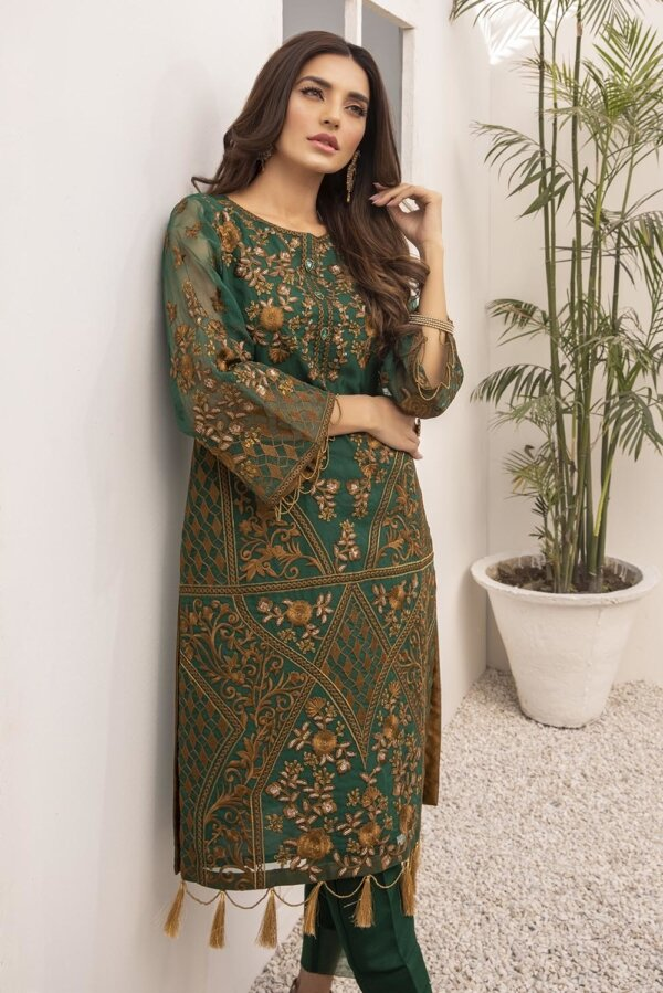 Kurti for Party from Azure 2021 – Daffodil