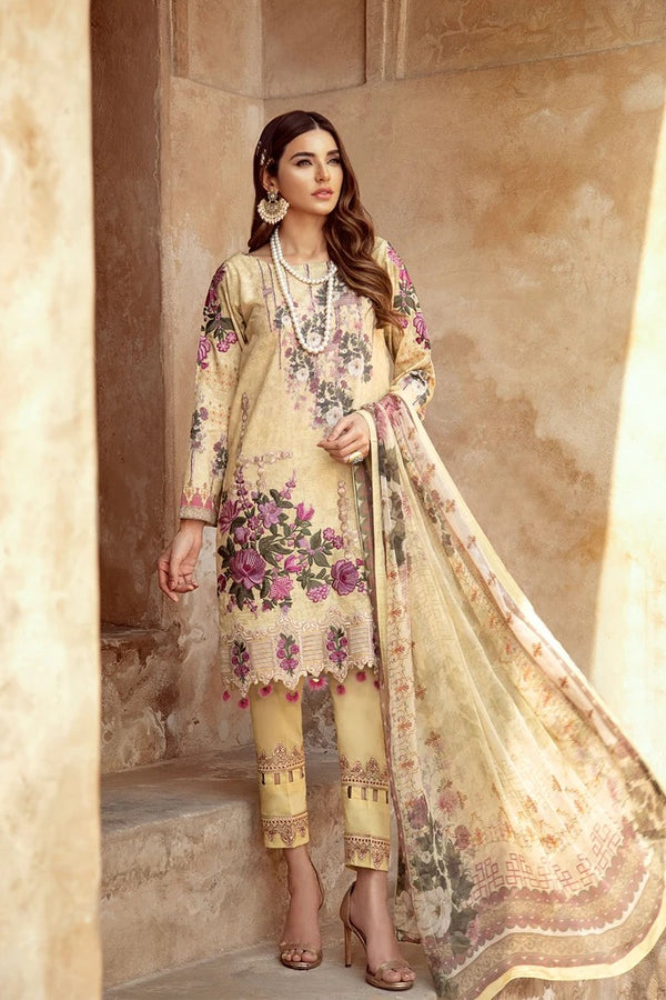 Ramsha Chevron Luxury Lawn Collection -206