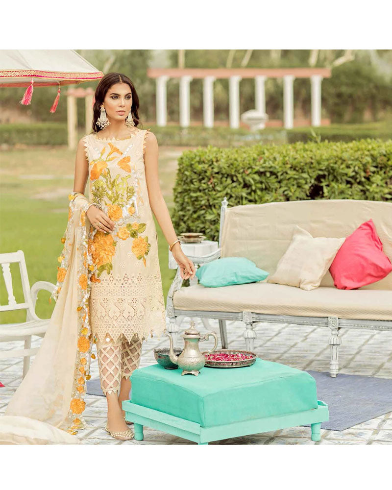 Charizma Eid Collection Unstitched Salwar Suits Lime Light ED-40