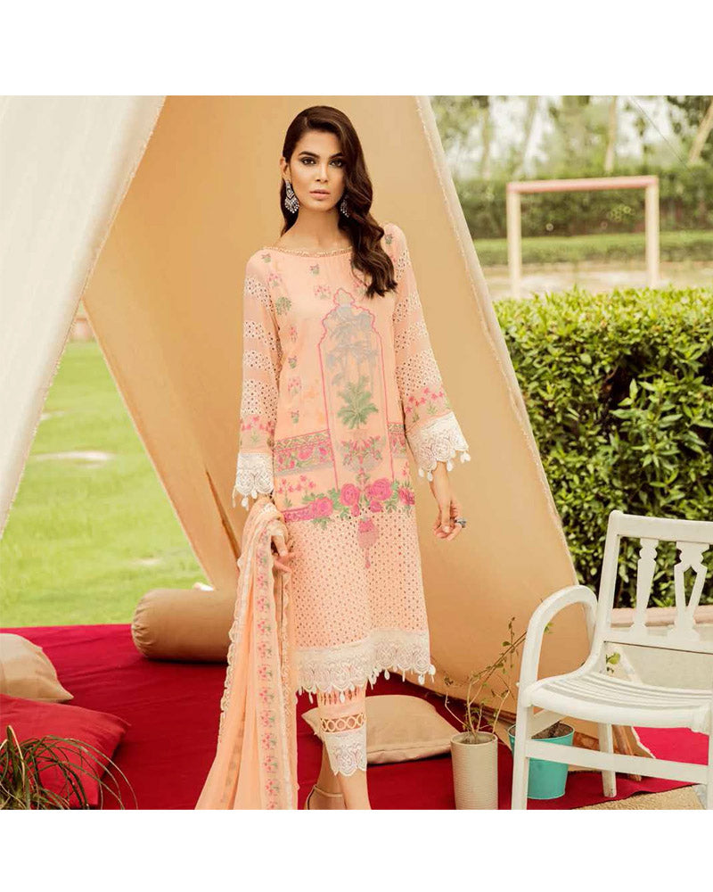 Charizma Eid Collection Unstitched Salwar Suits Oriental Pastel ED-43