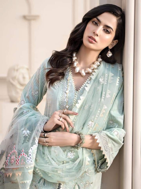 Noor Luxury Lawn Collection 2020 D-6a