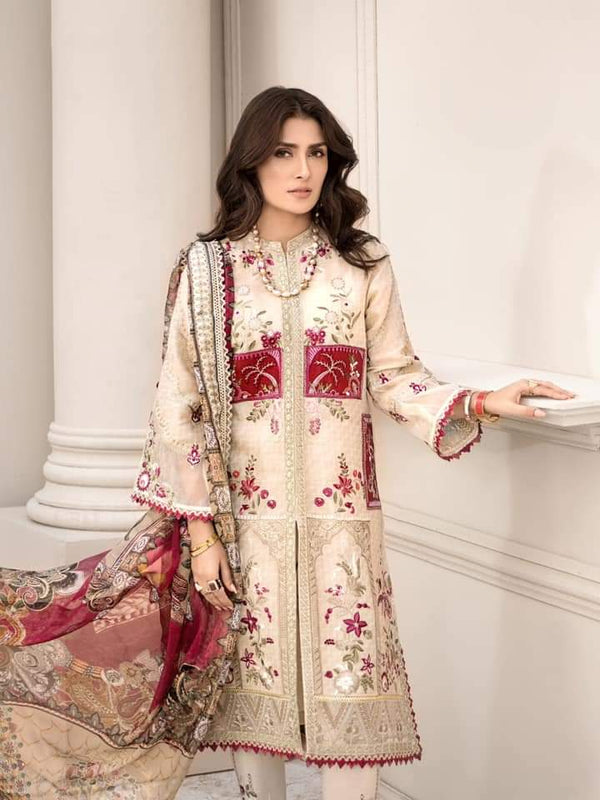 Noor Luxury Lawn Collection 2020 D-5b
