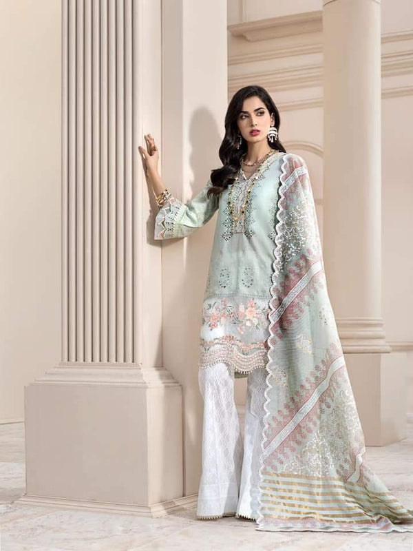 Noor Luxury Lawn Collection 2020 D-3b