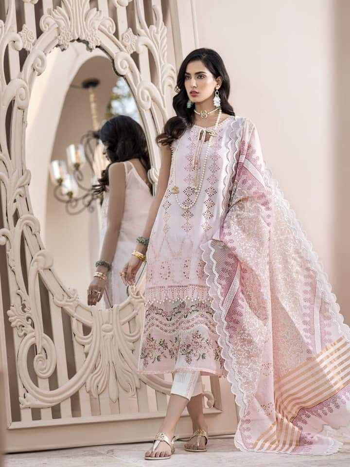 Noor Luxury Lawn Collection 2020 D-3a