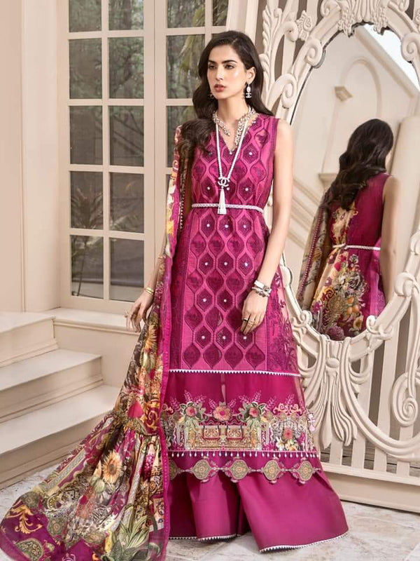 Noor Luxury Lawn Collection 2020 D-7b