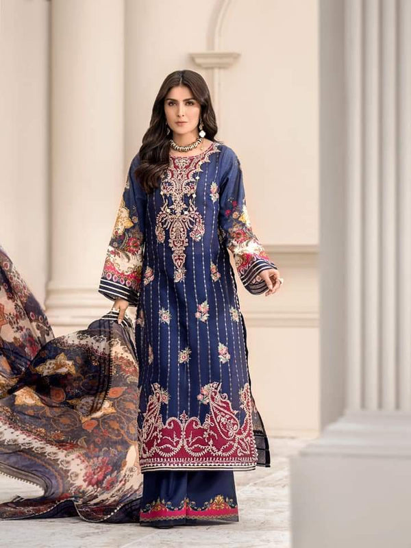Noor Luxury Lawn Collection 2020 D-9b