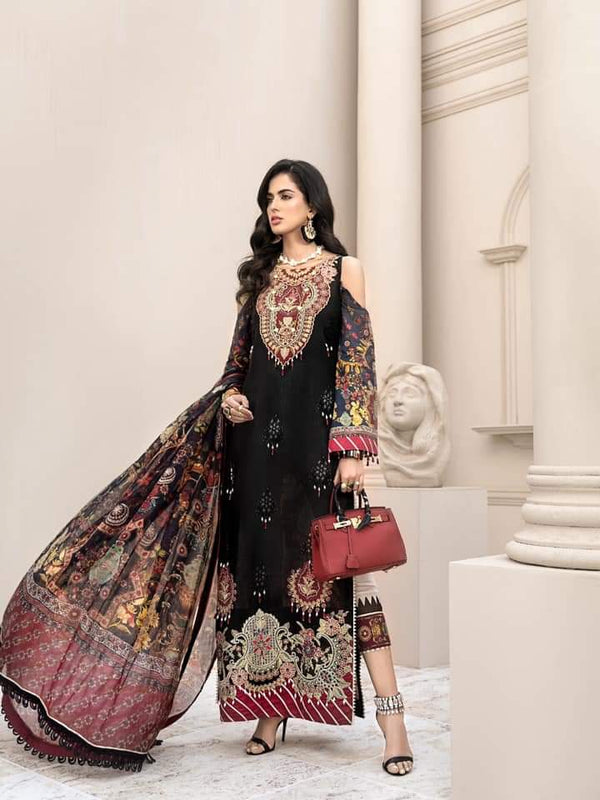 Noor Luxury Lawn Collection 2020 D-12a