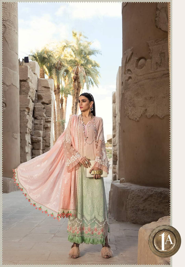Maria B Luxe Lawn Collection 2020 - 1a