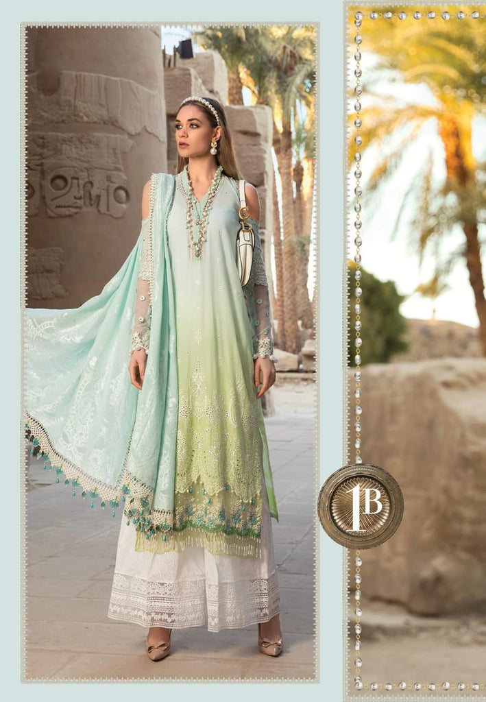 Maria B Luxe Lawn Collection 2020 - 1b
