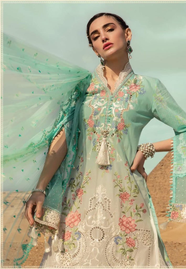 Maria B Luxe Lawn Collection 2020 - 3b
