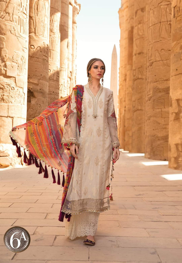 Maria B Luxe Lawn Collection 2020 - 6a