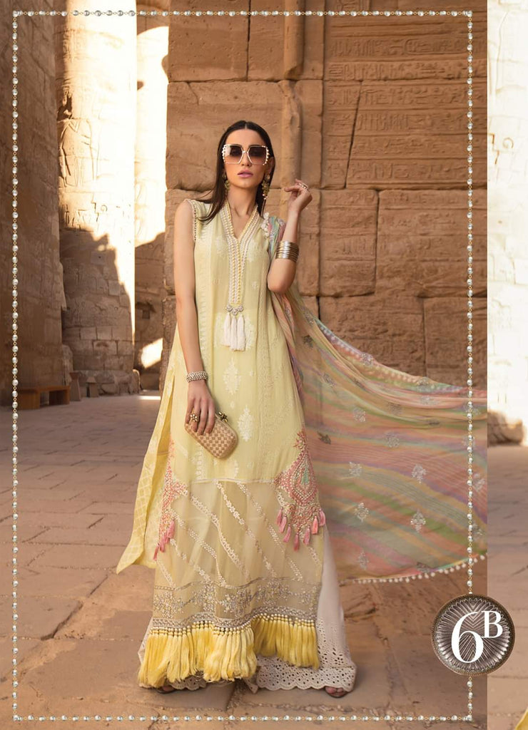 Maria B Luxe Lawn Collection 2020 - 6b