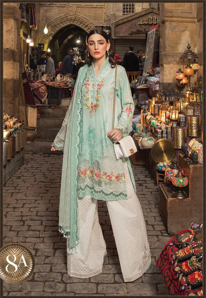Maria B Luxe Lawn Collection 2020 - 8a