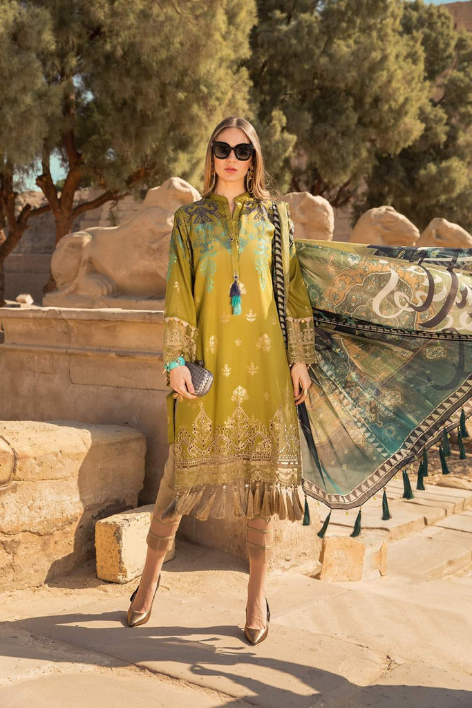 Maria B Luxe Lawn Collection 2020 - 11b