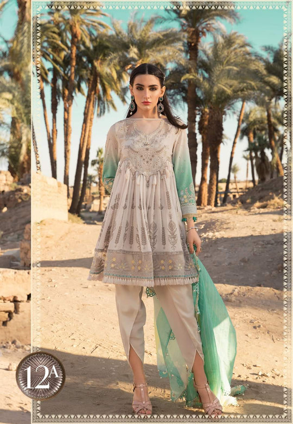 Maria B Luxe Lawn Collection 2020 - 12a