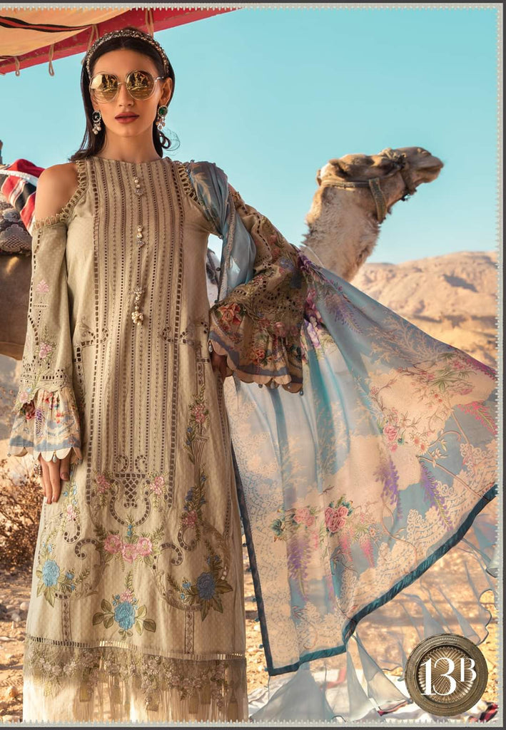 Maria B Luxe Lawn Collection 2020 - 13b