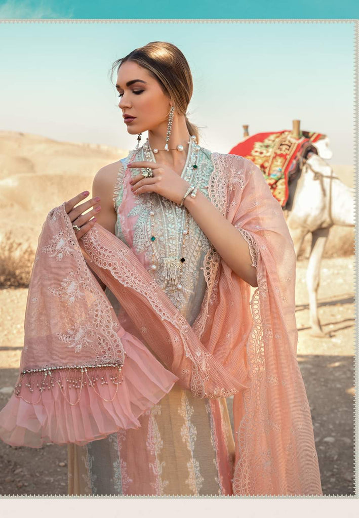 Maria B Luxe Lawn Collection 2020 - 14a