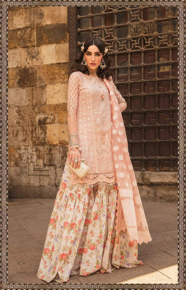 Maria B Luxe Lawn Collection 2020 - 15b