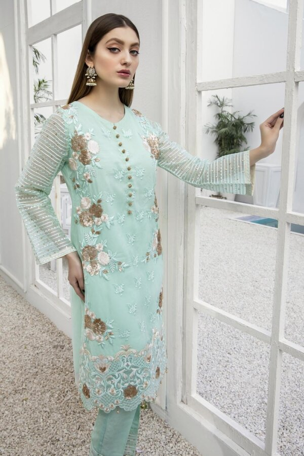 Kurti for Party from Azure 2021 – Hellebores