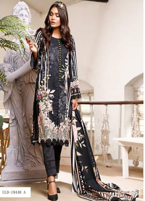 Firdous Urbane Digital Lawn Collection ULD 19448-A
