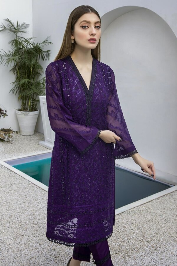 Kurti for Party from Azure 2021 – Indigo