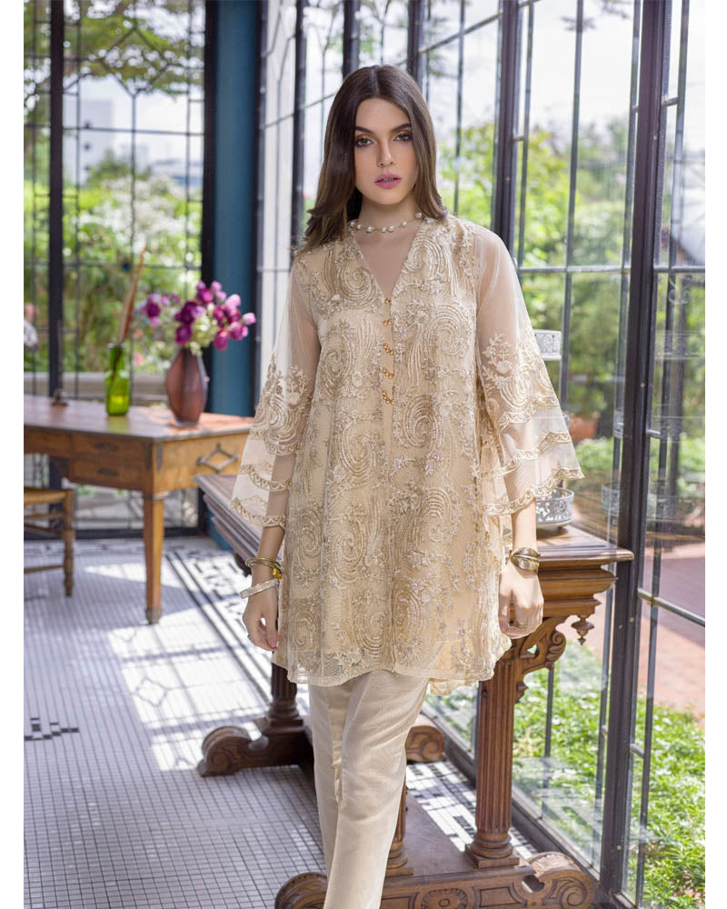 Azure Luxury Formals Kurti Vol 5 Agaste Gold LFD05