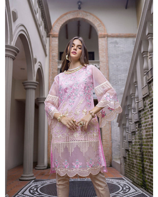 Azure Luxury Formals Kurti Vol 5 Belle Rose LFD07