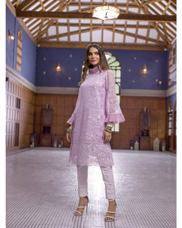 Azure Luxury Formals Kurti Vol 5  Lavender Dreams LFD12