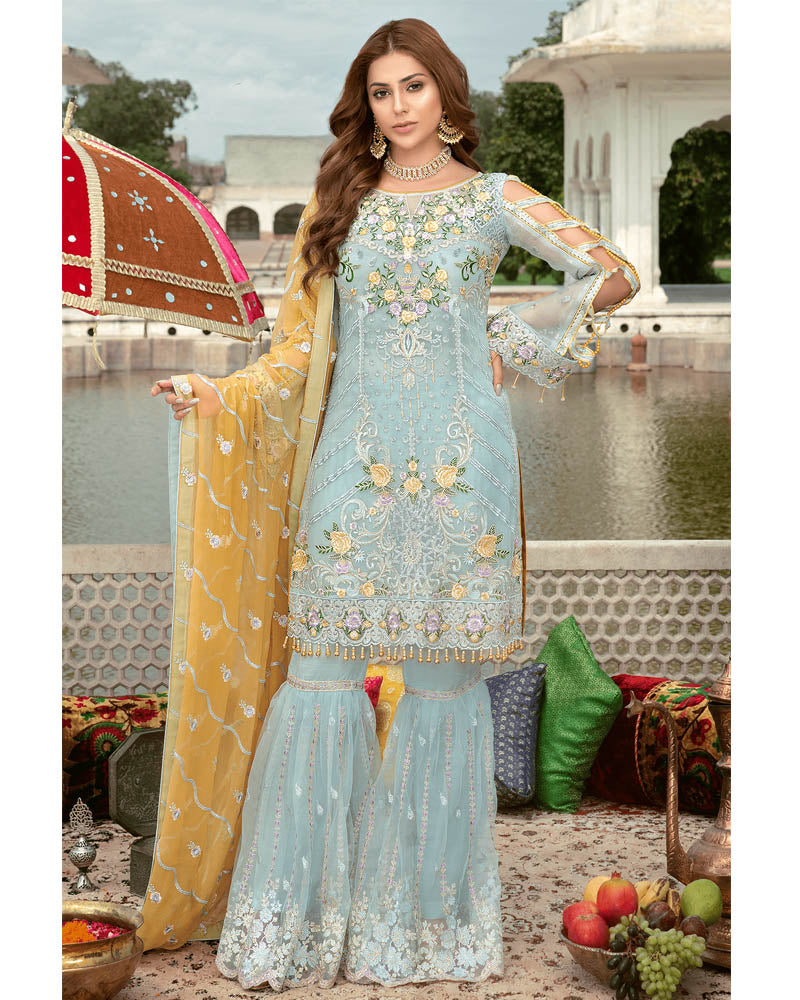 Maryams Premium Vol 4 Pakistani Salvar Suit MP-137