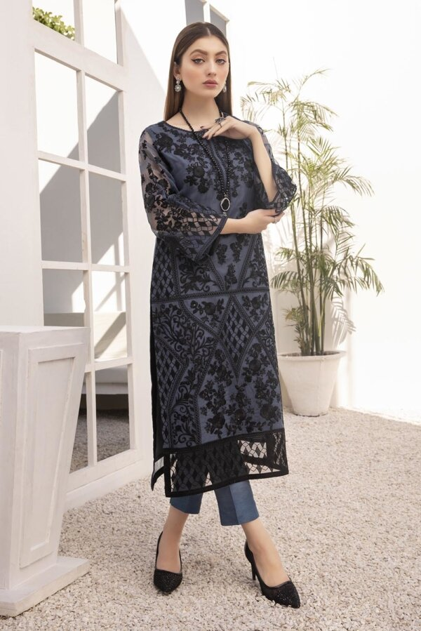 Kurti for Party from Azure 2021 – Mystic Grey