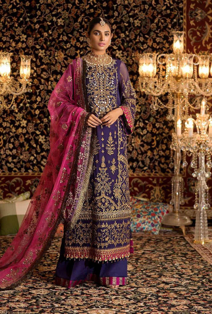 Noor by Saadia Asad Embroidered 2019 Pakistani Salwar Suit NEMBD-D5