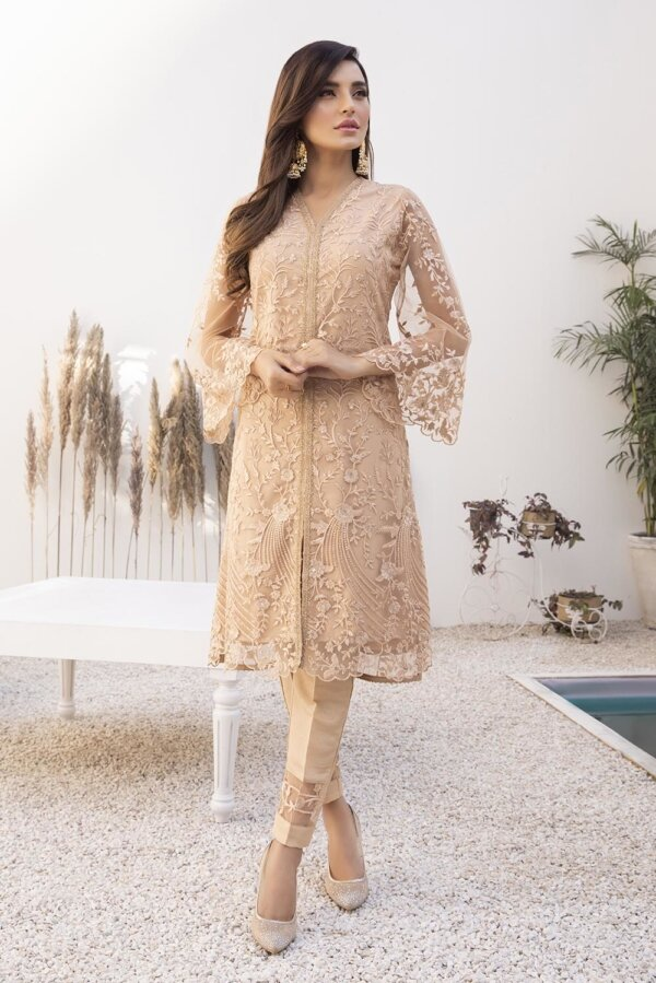 Kurti for Party from Azure 2021 – Regal Beige