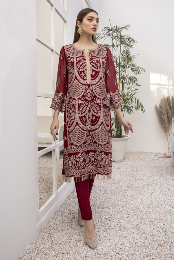 Kurti for Party from Azure 2021 – Rouge Gold