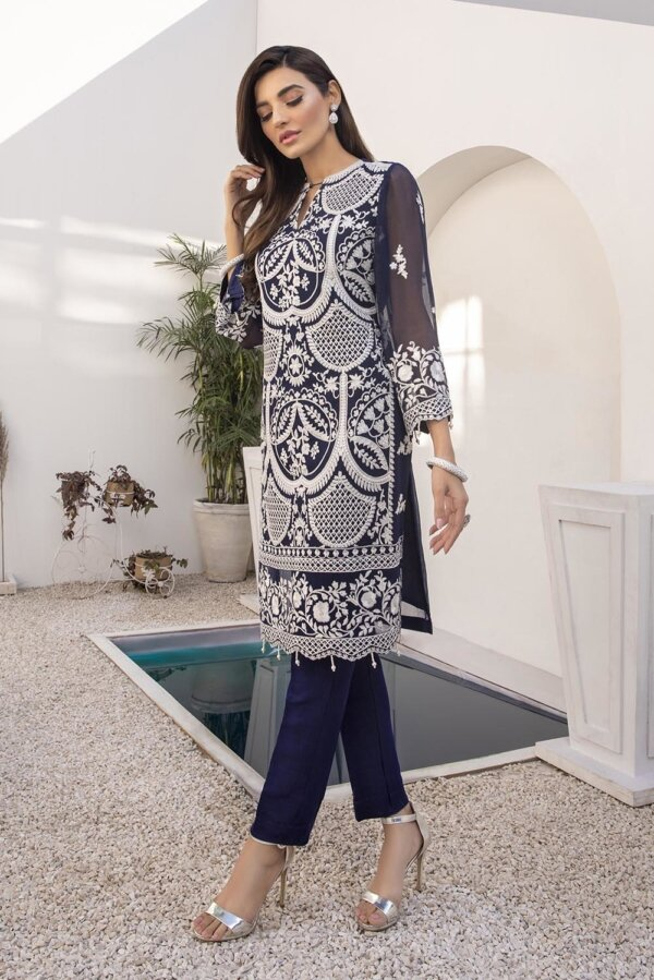 Kurti for Party from Azure 2021 – Royal Whims