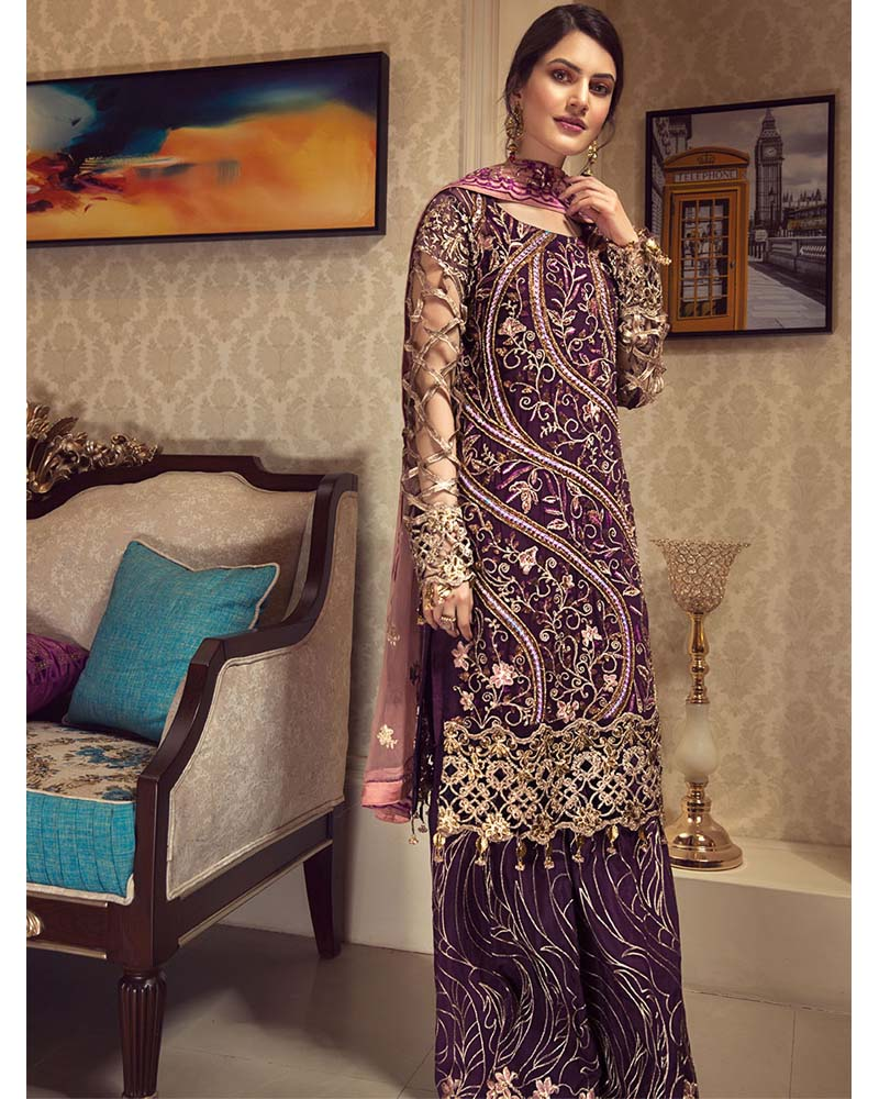 Zebtan Royal Collection Vol 5 Pakistani Salwar Suit ZR-04