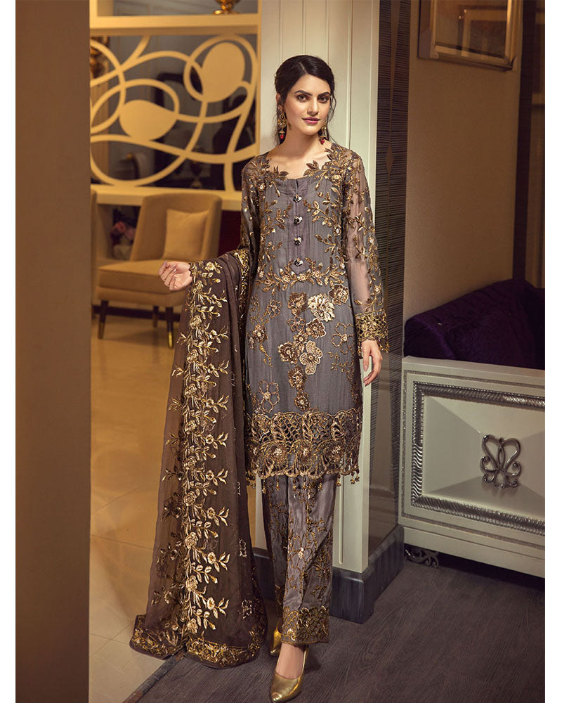 Zebtan Royal Collection Vol 5 Pakistani Salwar Suit ZR-07