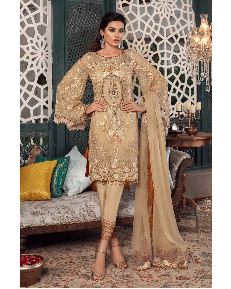 Maryams Luxury Embroidery Collection GOLD Vol-4 Auric Diva-MG-39