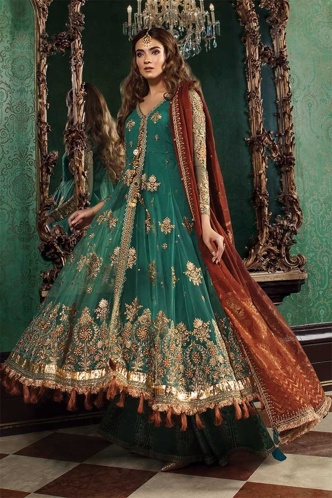 Maria B Embroidered Collection Pakistani Salwar Suit Design 1504
