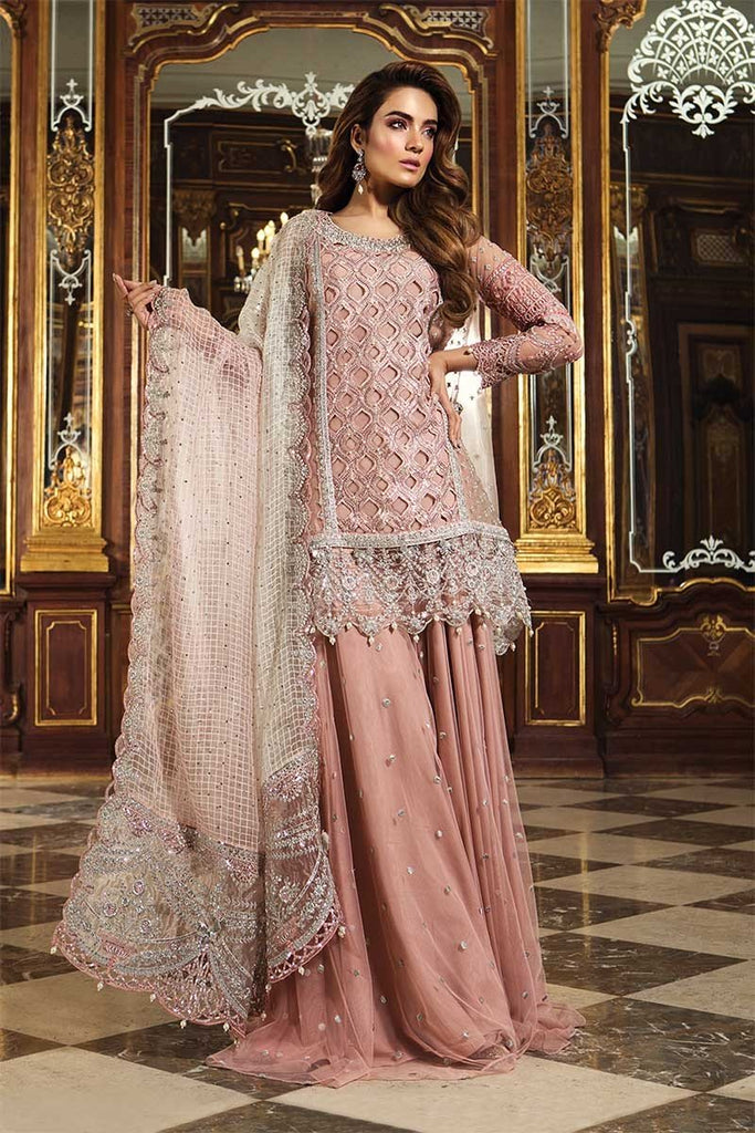 Maria B Embroidered Collection Pakistani Salwar Suit Design 1506