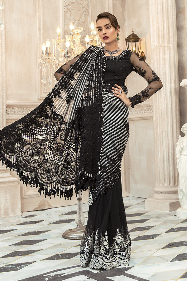 Maria B Mbroidered Chiffon Collection - Bd-1903