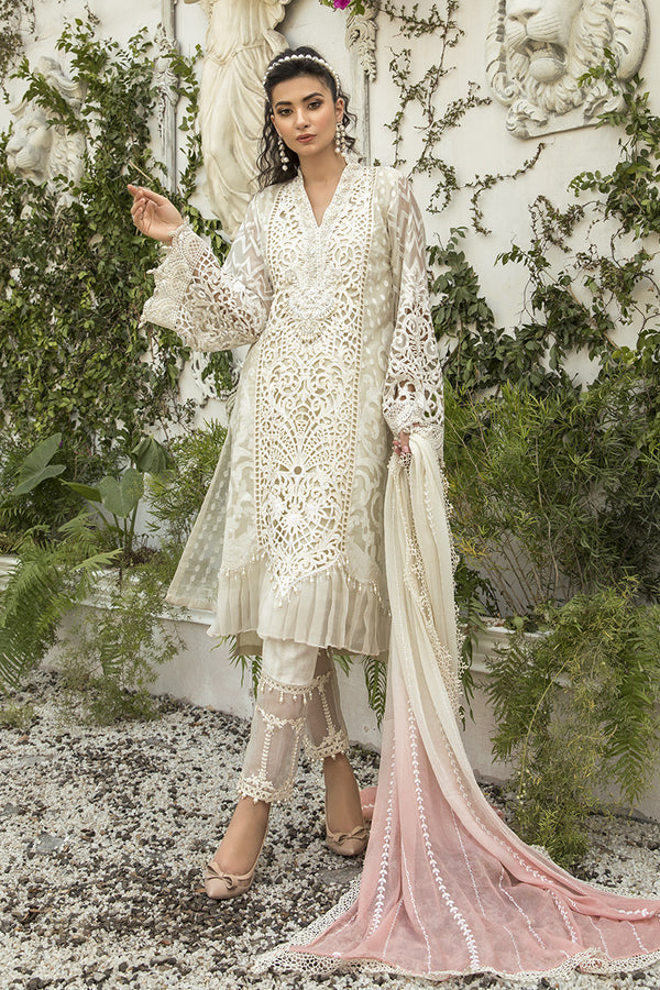 Maria B Mbroidered Chiffon Collection - Bd-1905