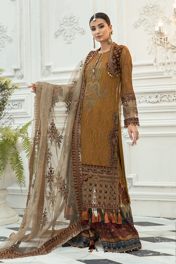 Maria B Mbroidered Chiffon Collection - Bd-1906