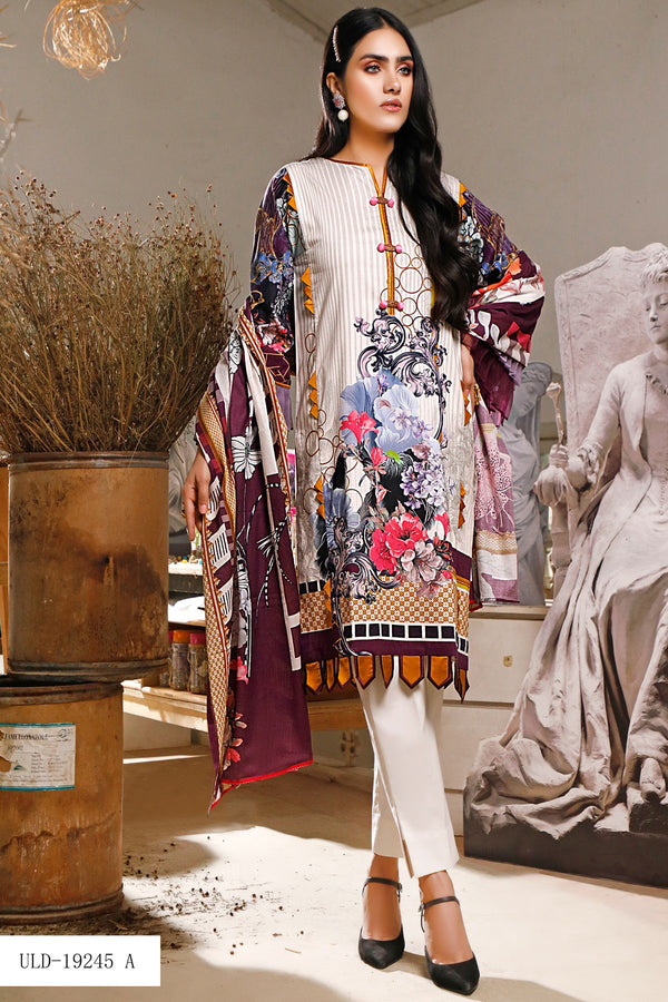 Firdous Urbane Digital Lawn Collection ULD 19245-A